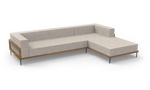 Talenti Cleo Teak divano modulare