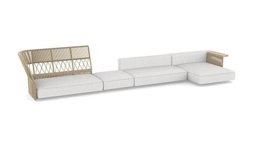 Talenti Cliff Dèco divano modulare