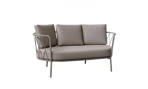 Desiree acciaio divano