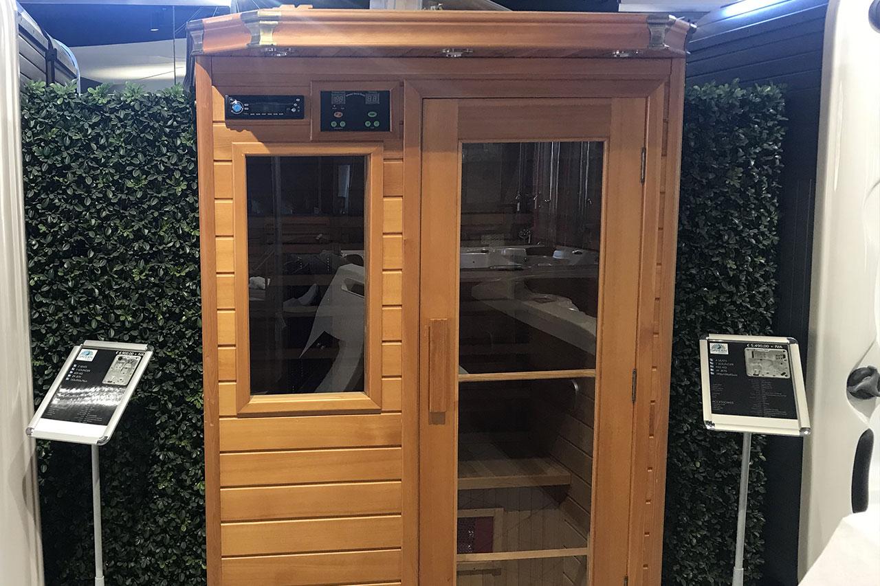 Sauna infrarossi 2p