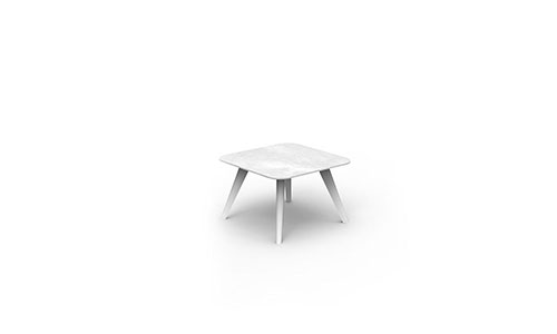 Tavolino moon alu caffe