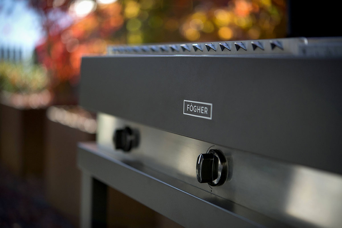 fogher barbecue a gas 500