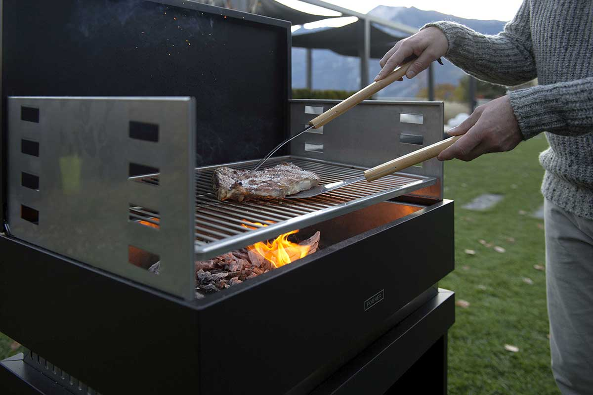 fogher barbecue a gas 650