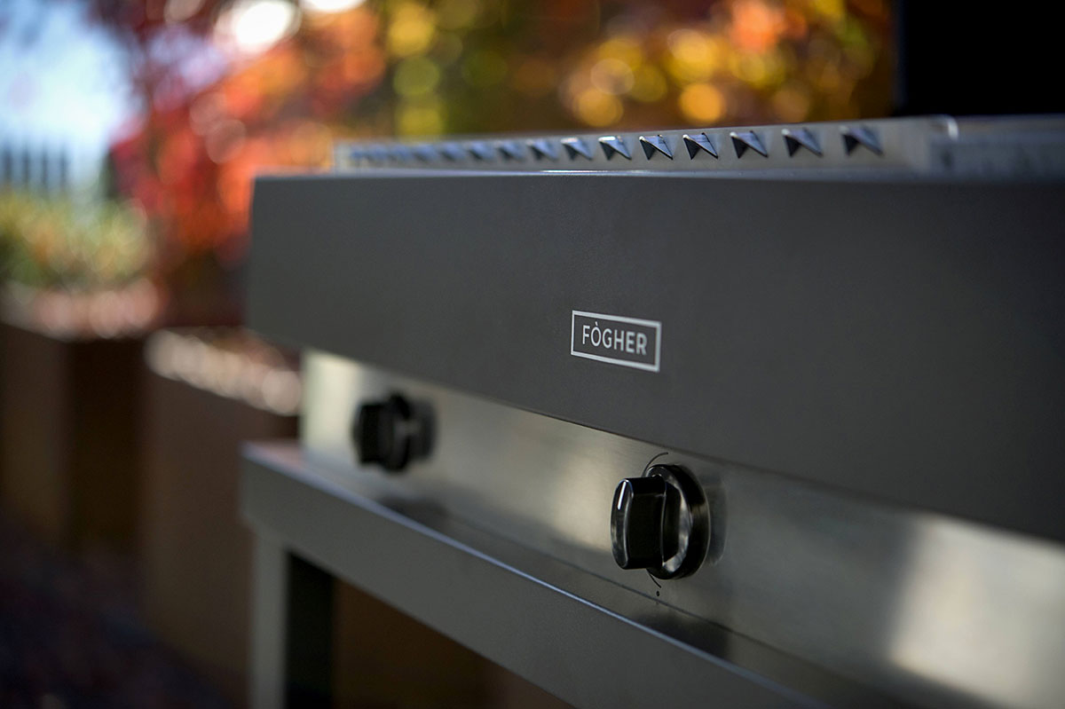 fogher barbecue a gas 750