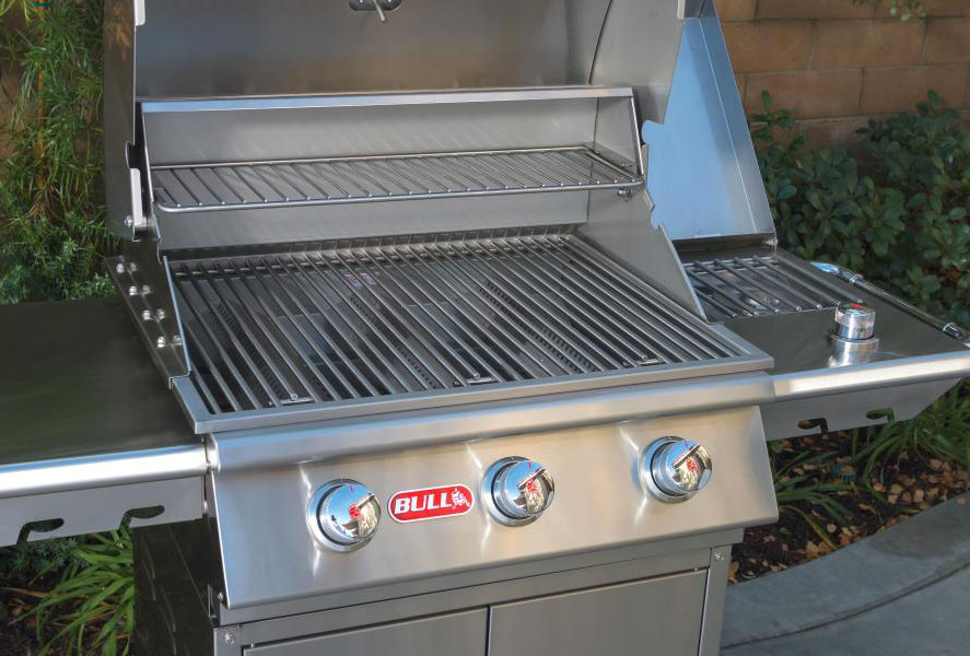 Bull burner barbecue